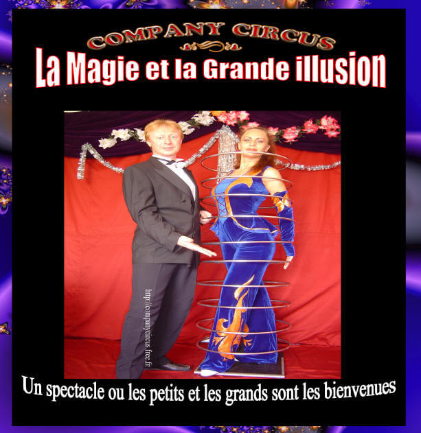 spectacle de magie grande illusion