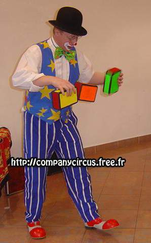 Clown spectacle jongleur animation enfants