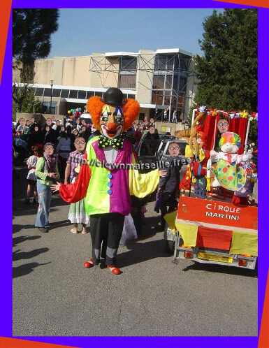 grosse tete clown carnaval