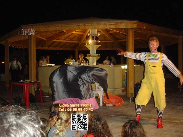 spectacle comique camping